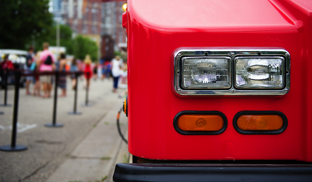 New red bus appears on London streets